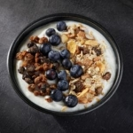 Blueberry & Muesli Yogurt Bowl