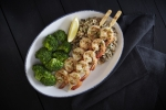 Kids Garlic-Grilled Shrimp Skewer