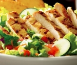 Simply Grilled Chicken Salad (Salsa-Ranch Dressing 2 oz.)