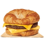 Croissan'wich Sausage, Egg & Cheese