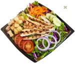 Grilled Chicken Salad (w/ Fat Free Italian Dressing)