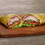 Subway Club on Spinach Wrap