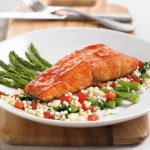 Fresh Atlantic Salmon, Blackened