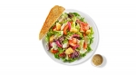 Side Salad (w/ Cilantro Lime Ranch Dressing, 3 fl. oz))
