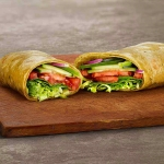 Veggie Delite on Spinach Wrap (Footlong)