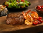 Sirloin (11 oz), and Grilled Shrimp on the Barbie