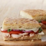 Frontega Chicken Panini on Sea Salt Focaccia (Half)
